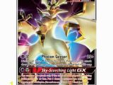 Pokemon Cards Gx Coloring Pages Ultra Necrozma Gx 95 131 Ultra Rare Pokemon Card Pokemon Sm forbidden Light