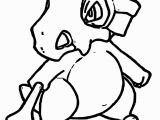 Pokemon Coloring Pages Cubone Pokemon Coloring Book for S