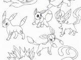 Pokemon Coloring Pages Eevee Evolutions together Pokemon Coloring Pages Eevee Evolutions to Her En 2020