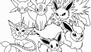 Pokemon Coloring Pages Eevee Evolutions together Pokemon Coloring Pages Eevee Evolutions to Her In 2020