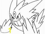 Pokemon Coloring Pages Mega Gengar Legendary Pokemon Coloring Pages
