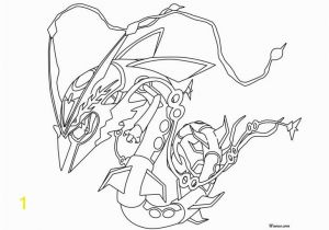 Pokemon Mega Rayquaza Coloring Pages 28 Collection Of Mega Rayquaza Drawing