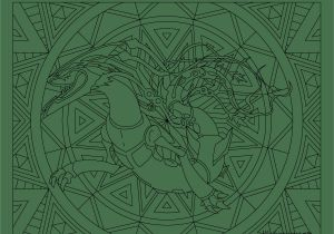 Pokemon Mega Rayquaza Coloring Pages Mega Rayquaza Pokemon Color Free Pinterest