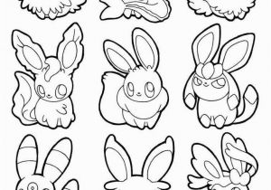 Pokemon Printable Coloring Pages Eevee Eeveelutions Coloring Pages Eevee Evolutions Coloring Pages Lovely