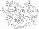 Pokemon Printable Coloring Pages Eevee Pokemon Coloring Pages Eevee Evolutions Glaceon