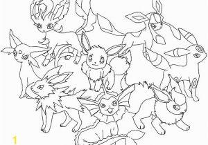 Pokemon Printable Coloring Pages Eevee Pokemon Coloring Pages Eevee Evolutions Glaceon