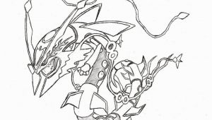 Pokemon Rayquaza Coloring Pages Pin On Colorings