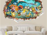 Pokemon Wall Mural Uk Children Bedroom Cartoon Pokemon Waterproof Mural Wallpaper Wall