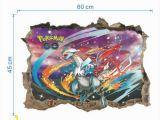 Pokemon Wall Mural Uk New Pokemon Go Pikachu Mural Wall Decals Sticker Kids Room Decor