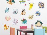 Pokemon Wall Mural Uk Pocket Monster Pokemon Wall Sticker for Kids Room Home Decoration