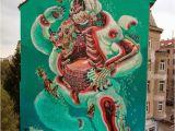 "Polar Bear Wall Mural Nychos ""dissection A Polar Bear"" A 5 Stories Piece In"