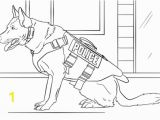 Police Dog Coloring Pages Printable K 9 Police Dog Coloring Page