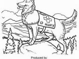Police Dog Coloring Pages Printable Police Dog Coloring Page at Getcolorings