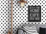 Polka Dot Wall Mural 25 Adorable Polka Dot Interior Ideas