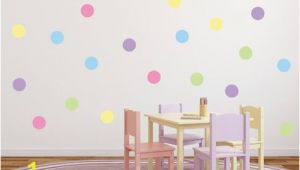 Polka Dot Wall Mural Polka Dot Wall Stickers Dot Wall Decals Circle Wall Decals