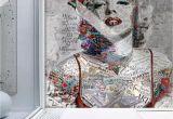Pop Art Wall Mural Pop Art Wallpaper Marilyn Monroe Wall Mural Typographie Wall