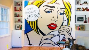 Pop Art Wall Murals Diy Wall Pop Art Diy and Craft Projects Pinterest