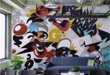 Pop Art Wall Murals Erics E Graffiti Wall Mural Removable Wallpaper