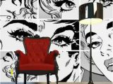 Pop Art Wall Murals the Use Of Ics and Cartoons is Typical Of the Pop Art Home