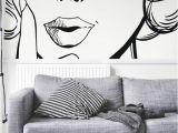Pop Art Wall Murals Wall Mural Ilustraci³n Del Rostro De Una Mujer Woman • Pixersize