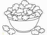 Popcorn Coloring Pages for Kids Popcorn Coloring Pages to and Print for Free
