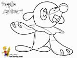 Popplio Coloring Page Coloring Page Pokemon Sun and Moon