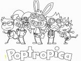 Poptropica Coloring Pages Printable Poptropica Coloring Pages