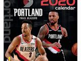 Portland Trail Blazers Coloring Pages Turner Licensing Trailblazers Calendar 2020 Fice Depot