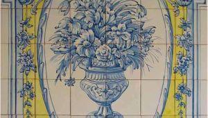 Portuguese Tile Murals Tile Murals Spanish Tile Victorian Tile Decorative Tile Ceramic