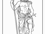 Poseidon Greek God Coloring Pages 15 Best Grieks Images On Pinterest