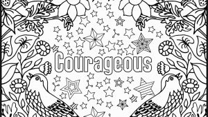 Positive Word Coloring Pages Courageous Positive Word Coloring Book Printable Coloring