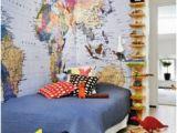 Pottery Barn Kids World Map Wall Mural Map Bedroom