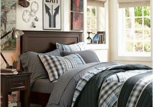 Pottery Barn Teen Wall Mural Boys Room Decorating Ideas & Harrison Hampton Bedroom