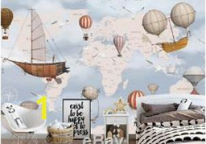 Pottery Barn Teen Wall Mural Kids World Map 3d Wallpaper Wall Mural Wall Sticker Removeable Self