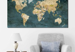 Pottery Barn Teen Wall Mural Pottery Barn Us Map Art New World Map World Map Wall Art World Map