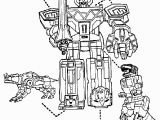 Power Rangers Printable Coloring Pages Power Rangers Megazord and Dinosaurs Coloring Page for Boys Robot