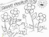 Pre K Spring Coloring Pages Coloring Pages