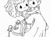 Precious Moments Bride and Groom Coloring Pages Bride and Groom Special and Romantic Moment Coloring Pages