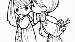 Precious Moments Bride and Groom Coloring Pages Precious Moments Wedding Couple Coloring Pages