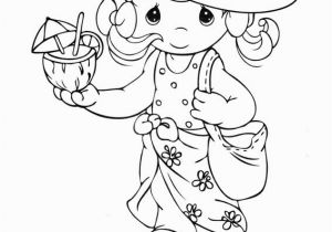 Precious Moments Coloring Pages Wedding Color Page Of Child with Bear Precious Moments Baby Coloring Pages