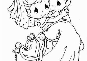 Precious Moments Coloring Pages Wedding Wedding Cartoon Drawing at Getdrawings