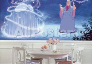 Prepasted Wall Murals Disney Princess Cinderella Magic Xl Chair Rail Prepasted Mural