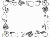 Preschool Apple Coloring Pages Cartoon Fruits Coloring Pages