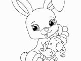 Preschool Bunny Coloring Pages Coloring Page for Kids Best Coloring Rabbit Free to Color