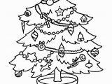 Preschool Christmas ornament Coloring Pages Free Christmas Tree Coloring Pages for the Kids