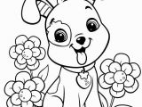 Preschool Coloring Pages for Spring Easy Coloring Pages