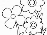 Preschool Coloring Pages for Spring Spring Flowers Coloring Page for Kids Free Printable