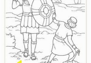 Preschool David and Goliath Coloring Page 81 Best David and Goliath Images On Pinterest