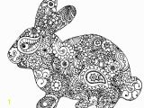 Preschool Easter Bunny Coloring Page 15 Easter Colouring In Pages