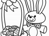 Preschool Easter Bunny Coloring Page Awesome Coloring Pages Easter Egg for Boys Picolour